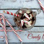 Dark Chocolate Dreams Candy Cane Milkshake Recipe #CandyCaneHacks + Giveaway