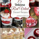 15 Delicious Red Velvet Dessert Recipes