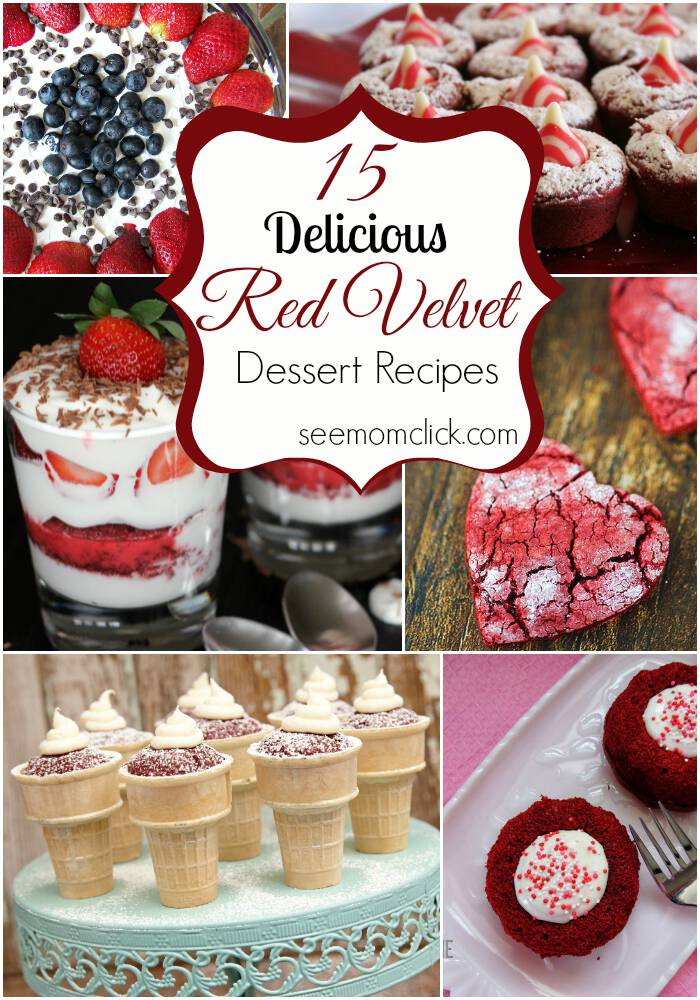 Delicious Red Velvet Dessert RecipesDelicious Red Velvet Dessert Recipes