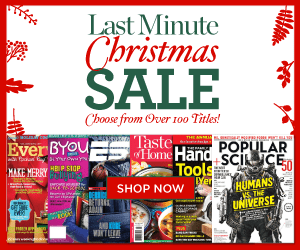 Last Minute Christmas MAgazine Sale