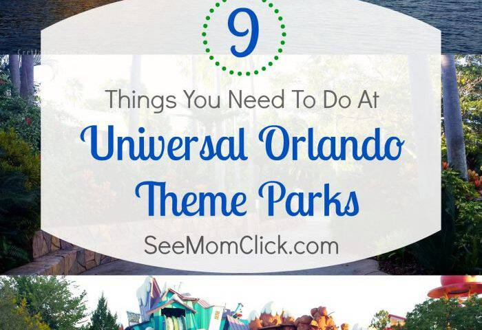 Top 9 Things You Need to Do at Universal Orlando Theme Parks