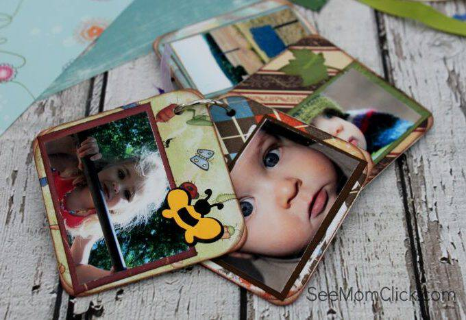 Easy Scrapbooking Coasters Craft