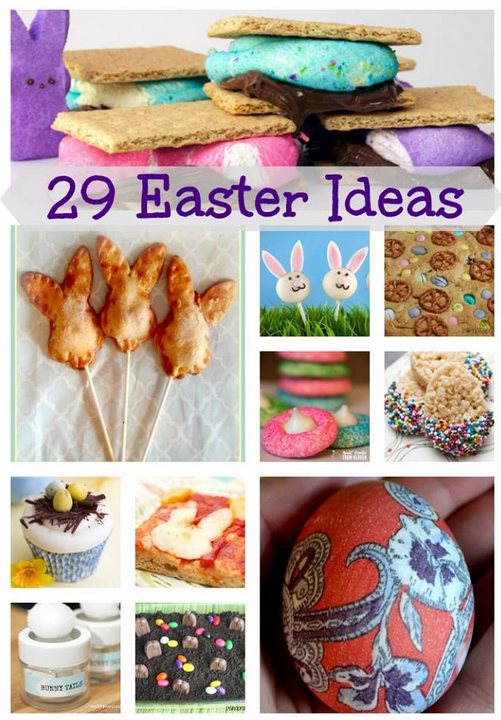 29 Fantastic Easter Ideas #MomsCheckIn