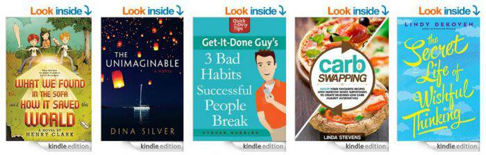 5 under $5 Kindle Books