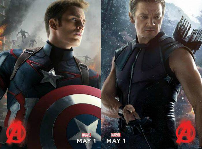 Check out the new AVENGERS: AGE OF ULTRON Trailer! This action-packed movie featuring all of our favorite Marvel characters comes out May 1, 2015.