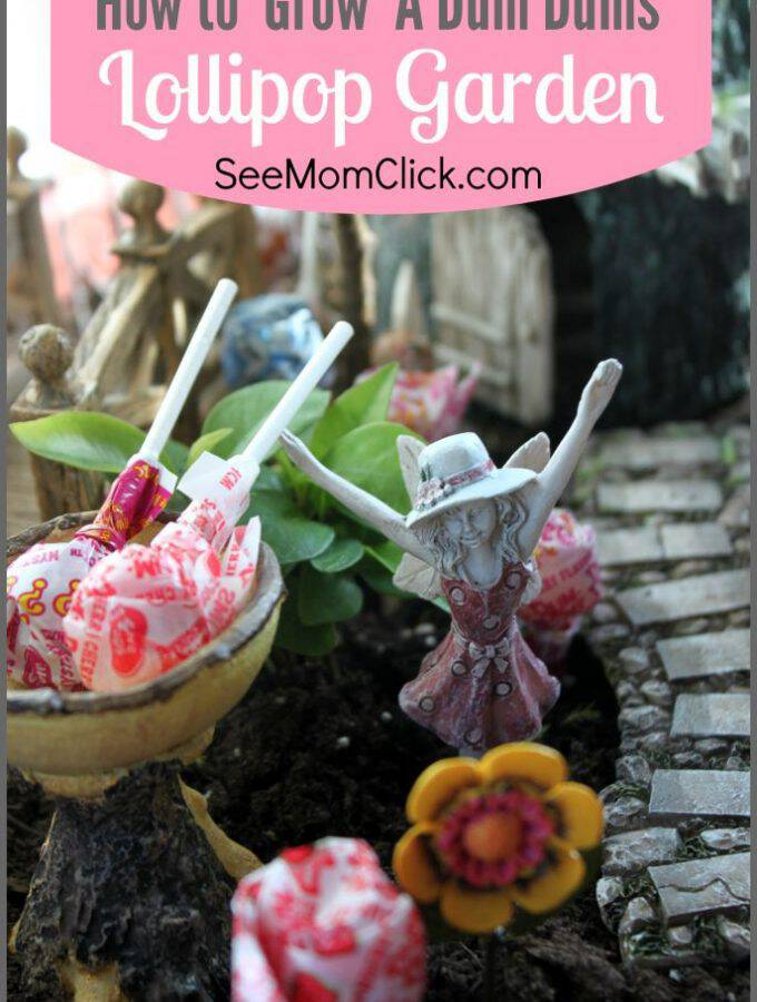 This is our new favorite spring tradition! See how creative my kids got and and learn how to grow a Dum Dums lollipop garden. Serious family fun!