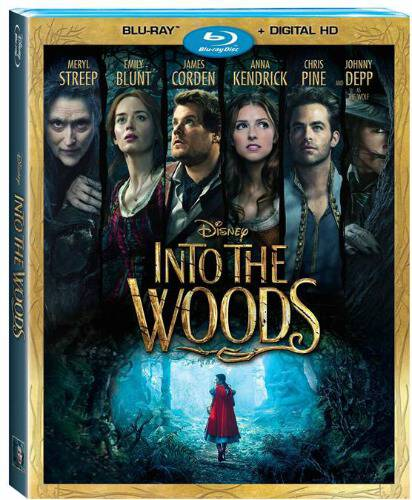 Disney's INTO THE WOODS on Blu-Ray releases on March 24 with some fantastic bonus features including a new song and behind-the-scenes scoop!