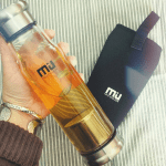 MIU Color Bottle with Strainer