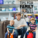 10 Tips for Family Travel + Twitter Party! #WrinkleFreeTravel #MomsCheckIn