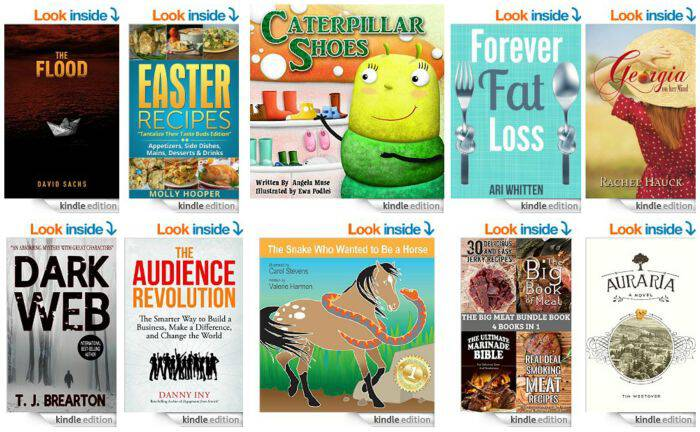 10 Free Kindle Books 4-3-15