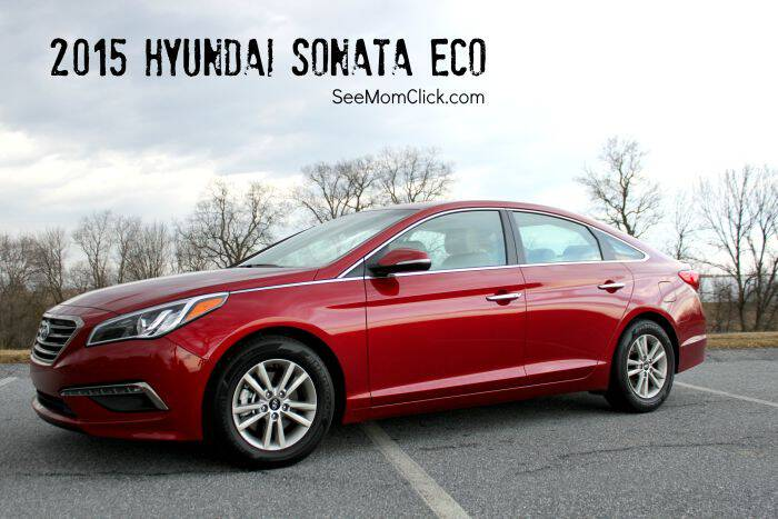 The 2015 Hyundai Sonata Eco is a comfortable, family-friendly sedan that handles well on the road and has lots of fun features! Here is my review.