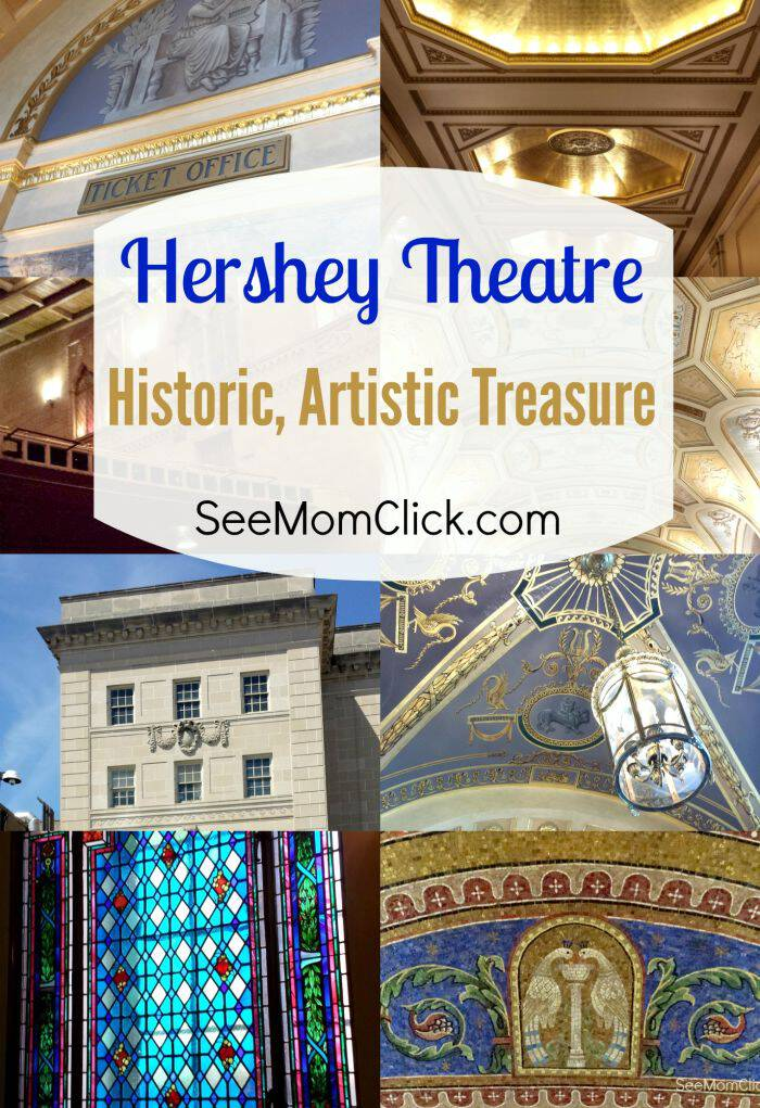 There's nothing like live theater, especially in a place with such rich history and gorgeous artistry and architecture as Hershey Theatre. It's stunning!