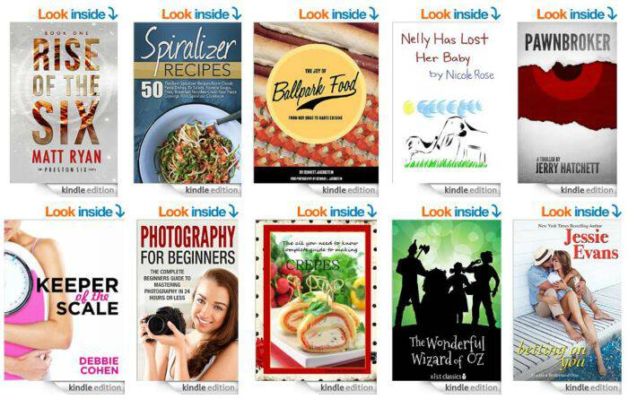 10 Free Kindle Books 5-1-15