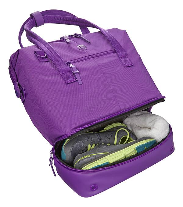 As a busy mom I absolutely love this Modal Concept Tote that Best Buy carries. It multitasks better than I do, from the office to the gym in style!