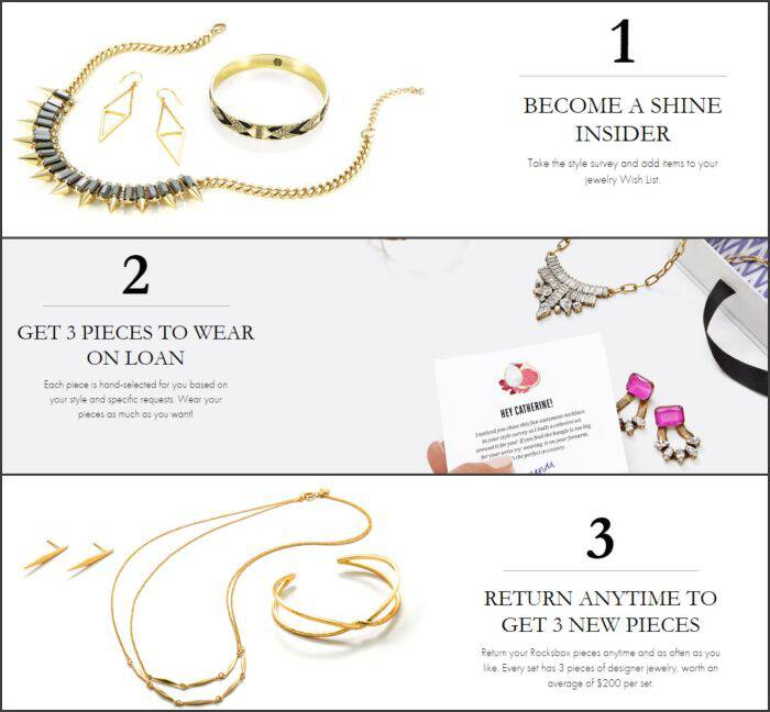 If you love to try new jewelry, you need to check out RocksBox. Get unlimited jewelry on loan (I LOVE what they sent me) + the first month free!