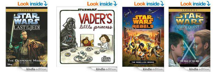 Star Wars Day Kindle Books