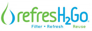 Water fountain water can be less than fresh tasting. Our solution? RefresH2Go Filtered Water Bottles. Always have clean, fresh water everywhere you go!