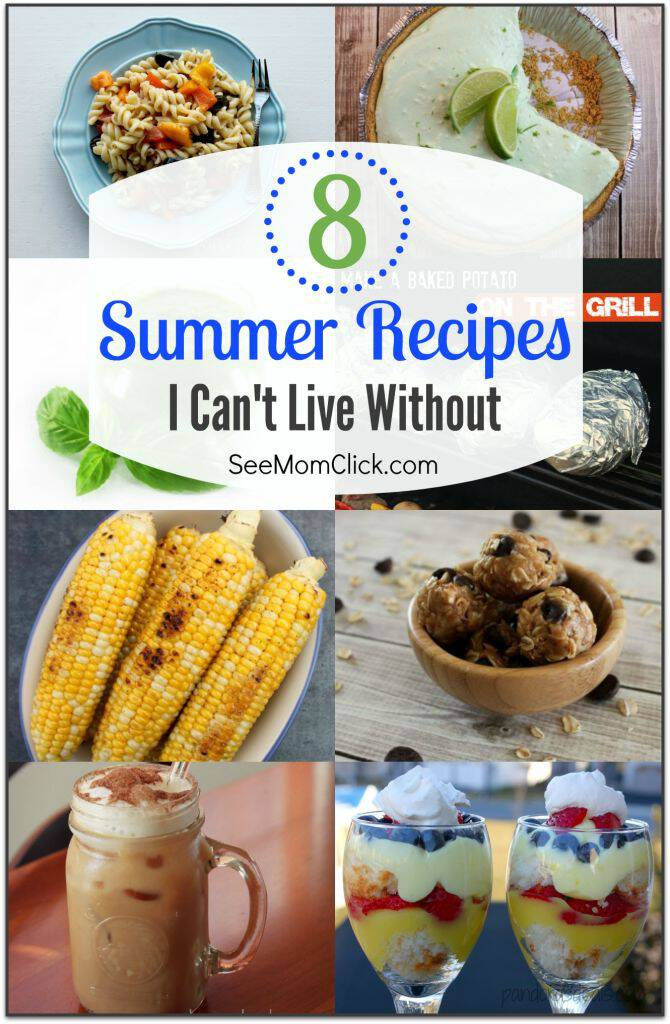 I like to keep my go-to list of summer recipes easy. Who wants to spend time in a hot kitchen when you could be poolside? Here are some of my favorite summer dinner recipes, plus drinks, desserts and sides. (#2 doubles as lunch and dinner!)