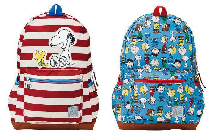 The Peanuts gang is hot this year with the Peanuts Movie coming out this fall! Get ready for school with these cool Peanuts backpacks from Hanna Andersson!