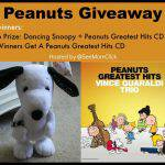 PEANUTS MOVIE Trailer + Dancing Snoopy & Peanuts Greatest Hits CD Giveaway!