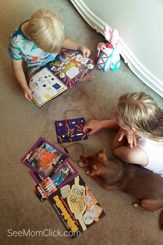 We're logging our summer reading minutes with the Scholastic Summer Reading Challenge! Here's our update plus a fun giveaway for STEM and science books!