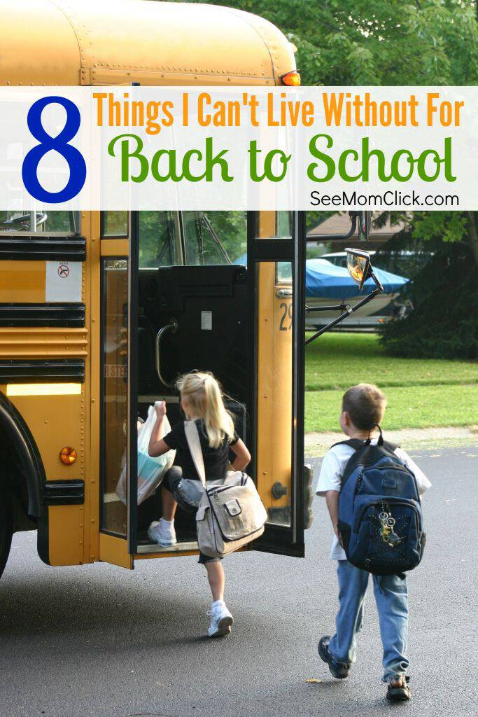 Back to school season is just around the bend and I'm gearing up for an organized school year (fingers crossed!). Here are the things I need to stay on track!