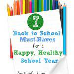 7 Back To School Must-Haves for a Happy, Healthy School Year #PURELLChallenge