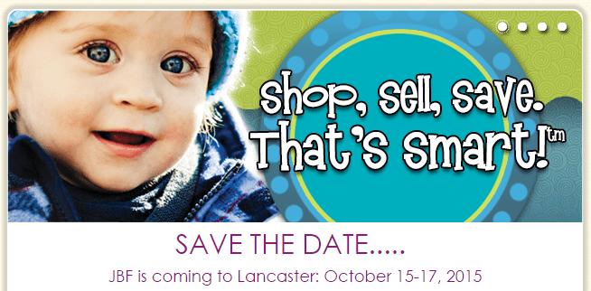 I'm so excited for the first ever Just Between Friends Lancaster, PA sale coming this fall, October 15-17! Get all you need for your kids in one stop!