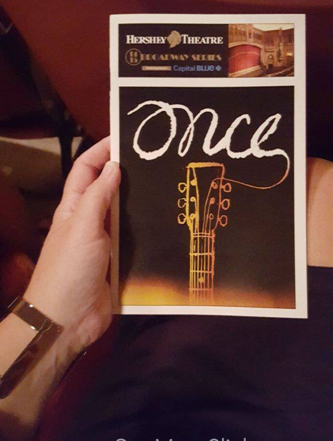 Tony Award Winning ONCE The Musical Live Now at Hershey Theatre!