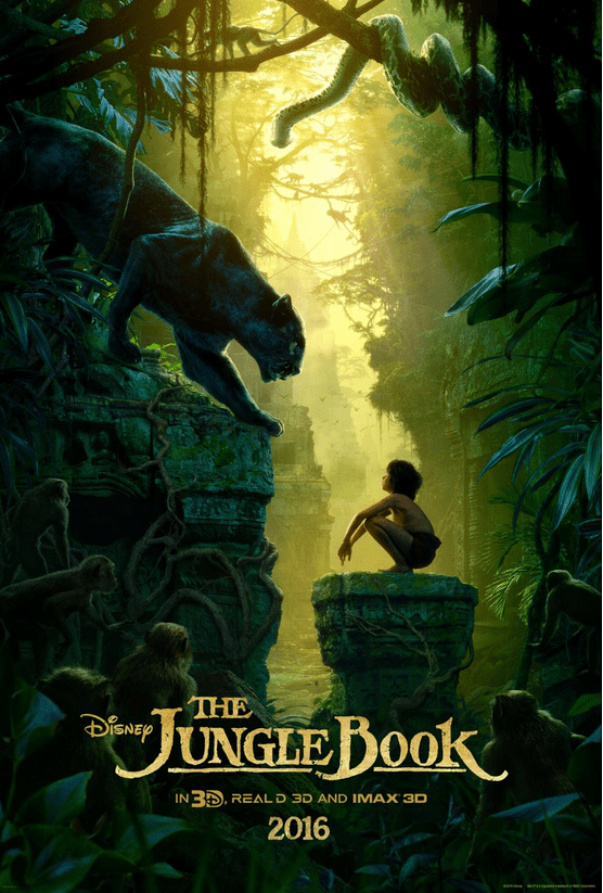 Check out the live action film, Disney's THE JUNGLE BOOK trailer and a bunch of pics from the movie. This looks AMAZING! In theaters April 15, 2016!