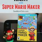 Family Game Night Is a Throwback with Super Mario Maker for Wii U