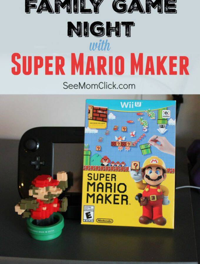 Want to have a family game night that you and your kids will LOVE? Check out Super Mario Maker for Wii U. This is the Mario I remember & one they love, too!