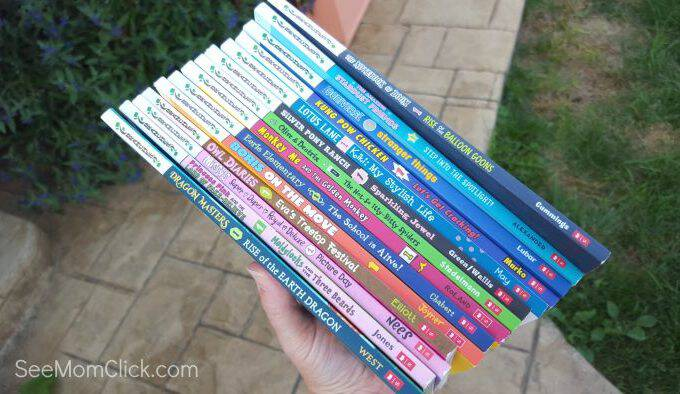 Scholastic Branches: Leaping from Early Reader to Chapter Books + Giveaway #ScholasticBranches