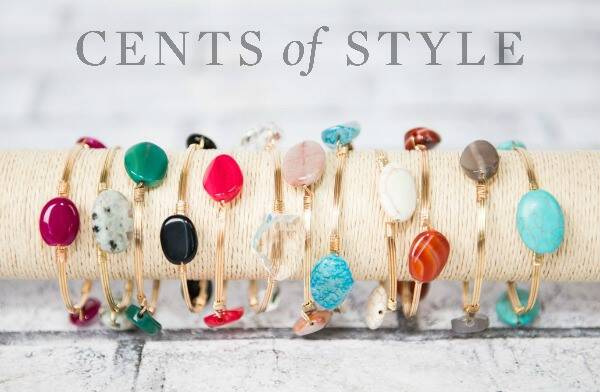 It's a fall arm party! I love these cool stacking bangle bracelets from Cents of Style and this price cannot be beat. Only $4.95, free shipping included!
