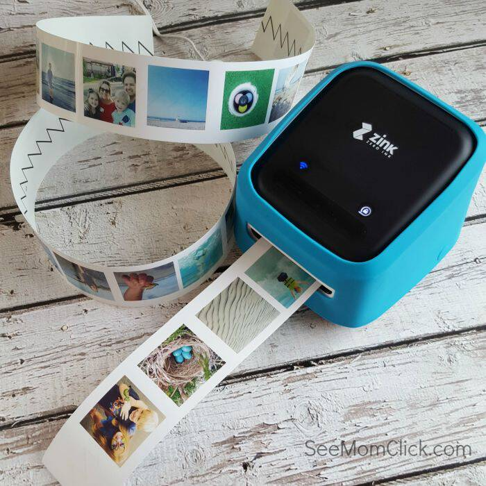 I made this fun and easy craft, an Instagram Photo Tile with the ZINK hAppy printer. So easy and fun to get creative with. This gadget has a million labeling, crafting, and organizational uses.