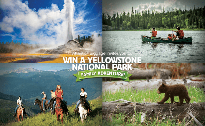 Atlantic Luggage Yellowstone Sweepstakes
