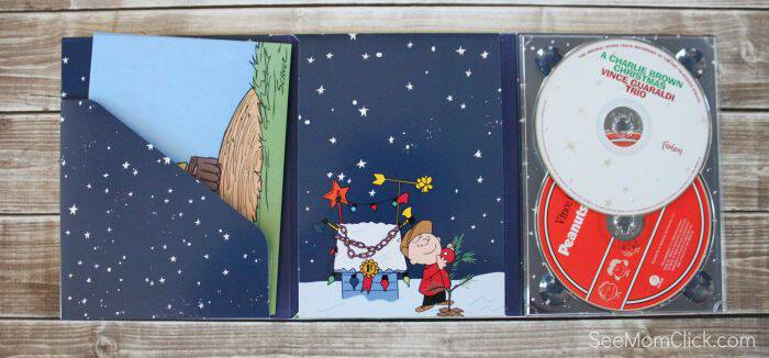 Exclusive to Walmart this holiday season, and just in time for the release of The Peanuts Movie is this awesome 2-CD A Charlie Brown Christmas Gift Pack!
