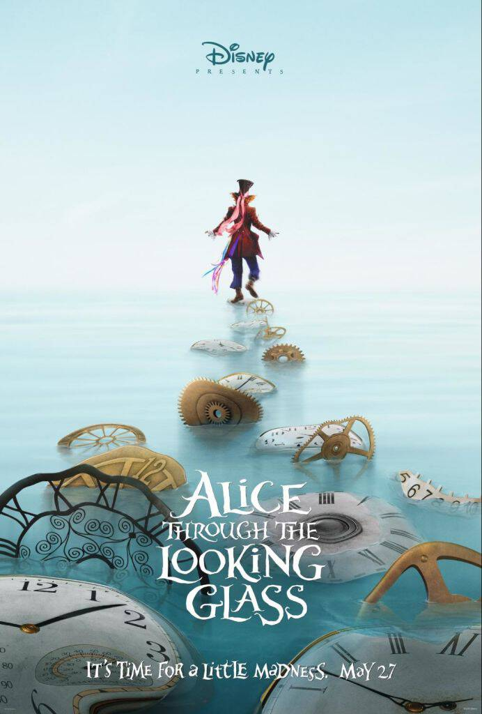 Check out this awesome new teaser trailer for Disney's ALICE THROUGH THE LOOKING GLASS, in theaters May 27, 2016! What a ride this is going to be!