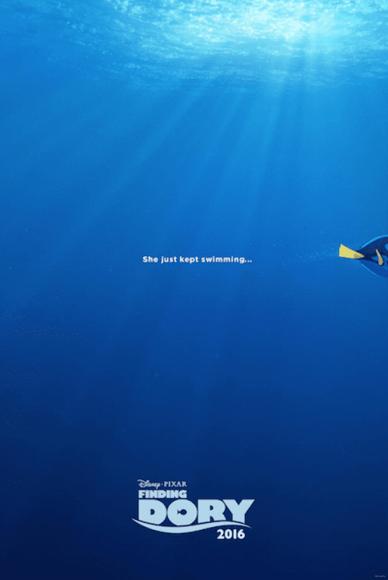 !Check out the all new FINDING DORY teaser trailer and poster! This movie is going to be so much fun! I can't wait to take the kids. In theaters June 2017!