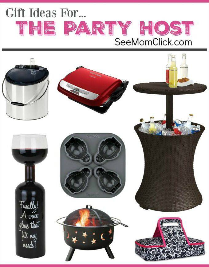 We all have someone on our list that loves to entertain (maybe it's you!). These are fun and practical holiday gift ideas for your favorite party host!