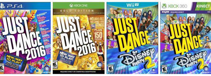 Up to 50% Off Just Dance 2016 & Just Dance Disney Party 2!