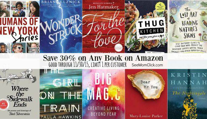 Save on Amazon Books