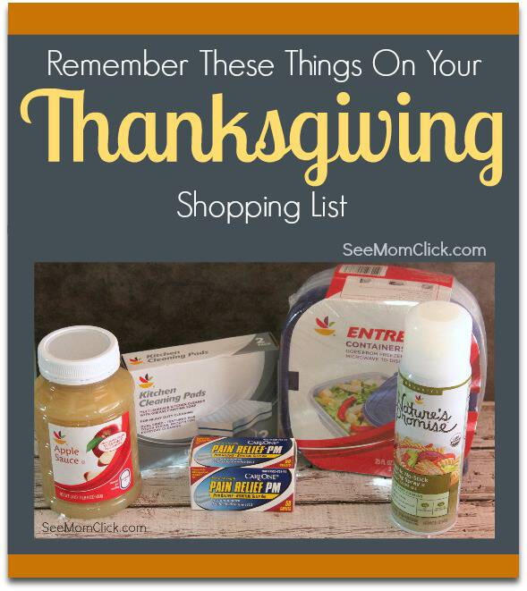 GIANT Food Stores has you covered for all of your holiday needs. You've got the turkey, but don't forget these things on your Thanksgiving shopping list.