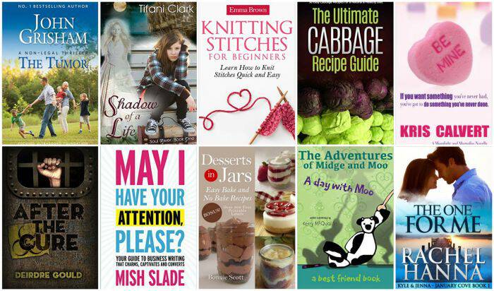 10 Free Kindle Books 1-25-16