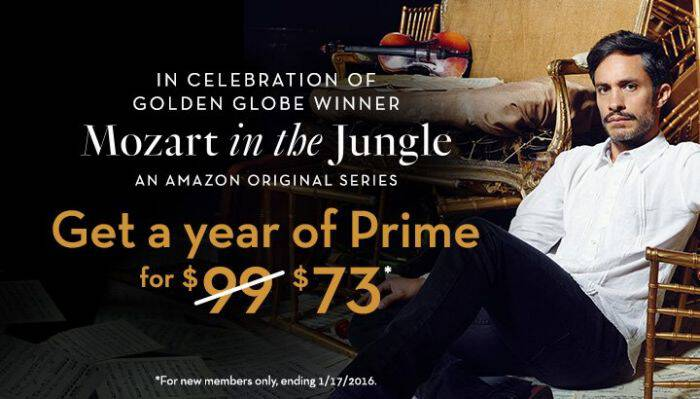 If you're not currently a member, take advantage of this Amazon Prime sale and get your 1-year membership for $73 (reg. $99)! I LOVE my Prime!