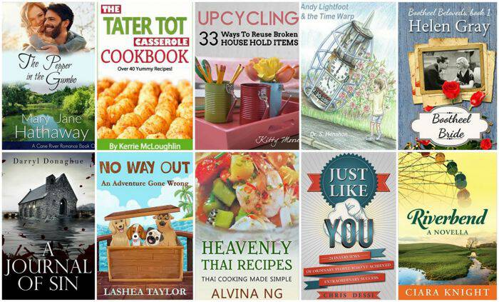 10 Free Kindle Books 2-20-16