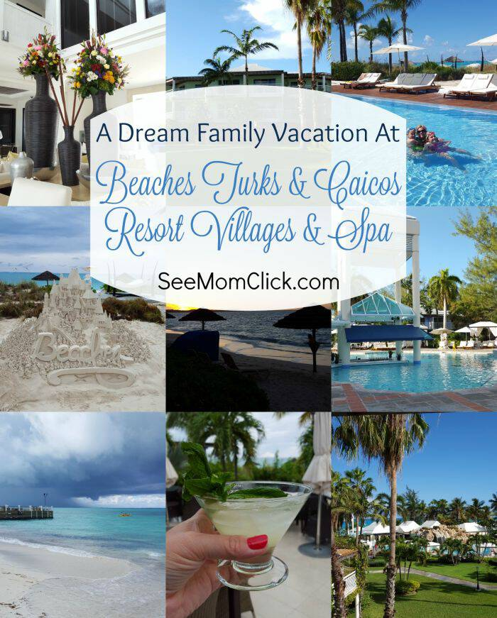 Family travel is one of our favorite things to do with the kids.Our vacation at Beaches Turks and Caicos was an absolute dream. Here are our favorite parts!