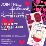 Hallmark #CareEnough Twitter Party February 8 at 8pm ET