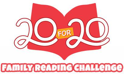Do you know it only takes 20 minutes a day to foster a lifelong love of reading? I'm laying down a challenge: read with your kids. Start today!