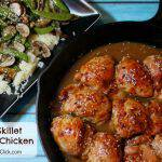 Easy Skillet Sesame Chicken Recipe With Snow Peas & Mushrooms